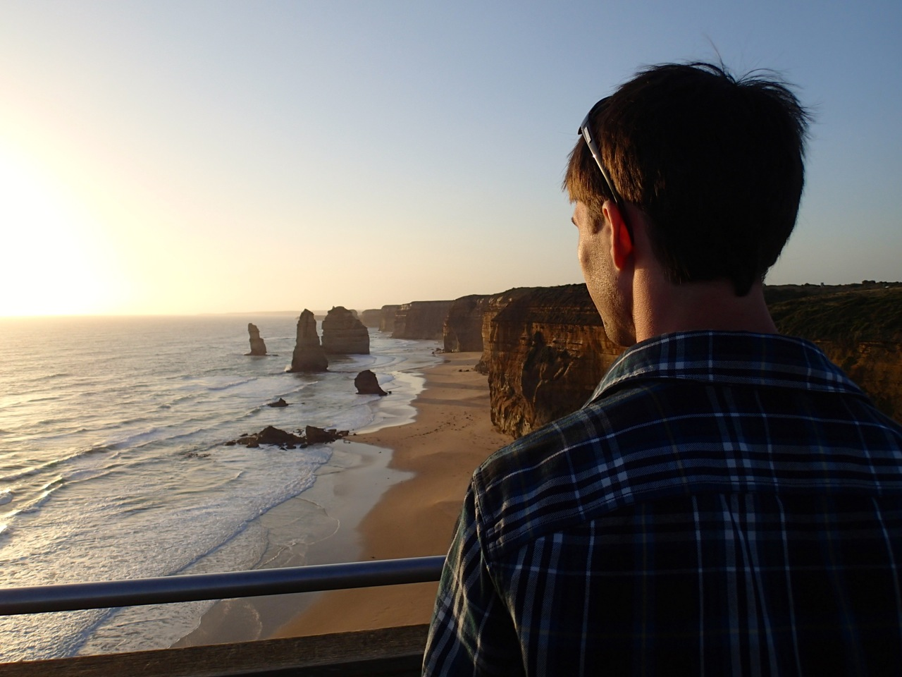 twelve apostles great ocean road sunset