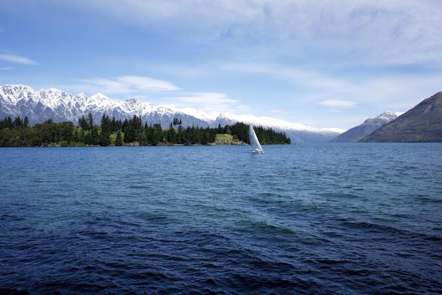 Lago Wakatipu Queenstown