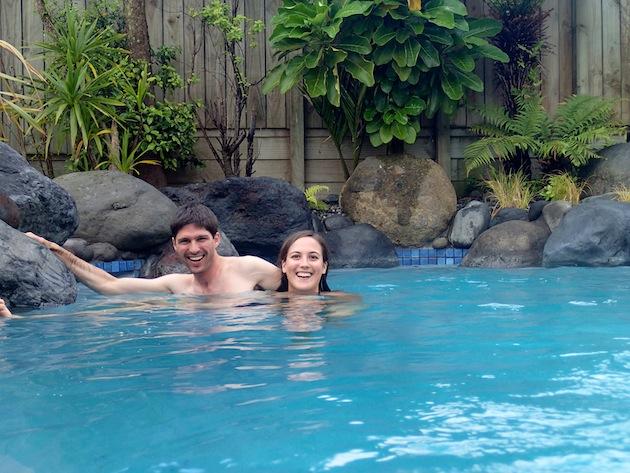 Piscina a 36 grados en Taupo