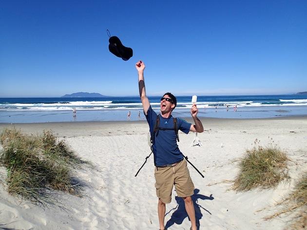 Playas de la costa de Matakana