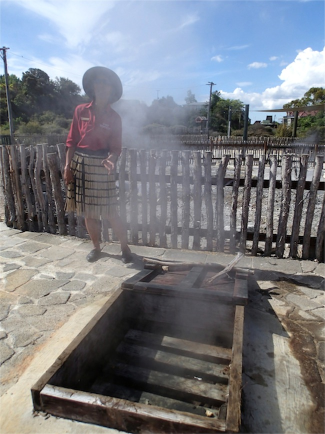 whakarewarewa horno vapor