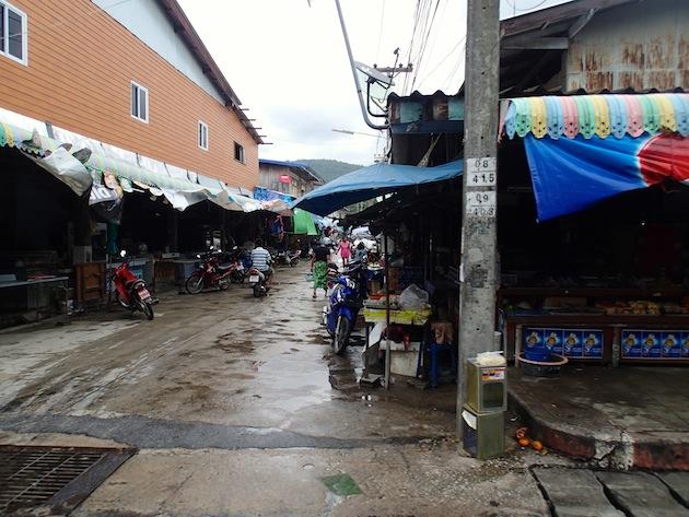 calles de koh samui