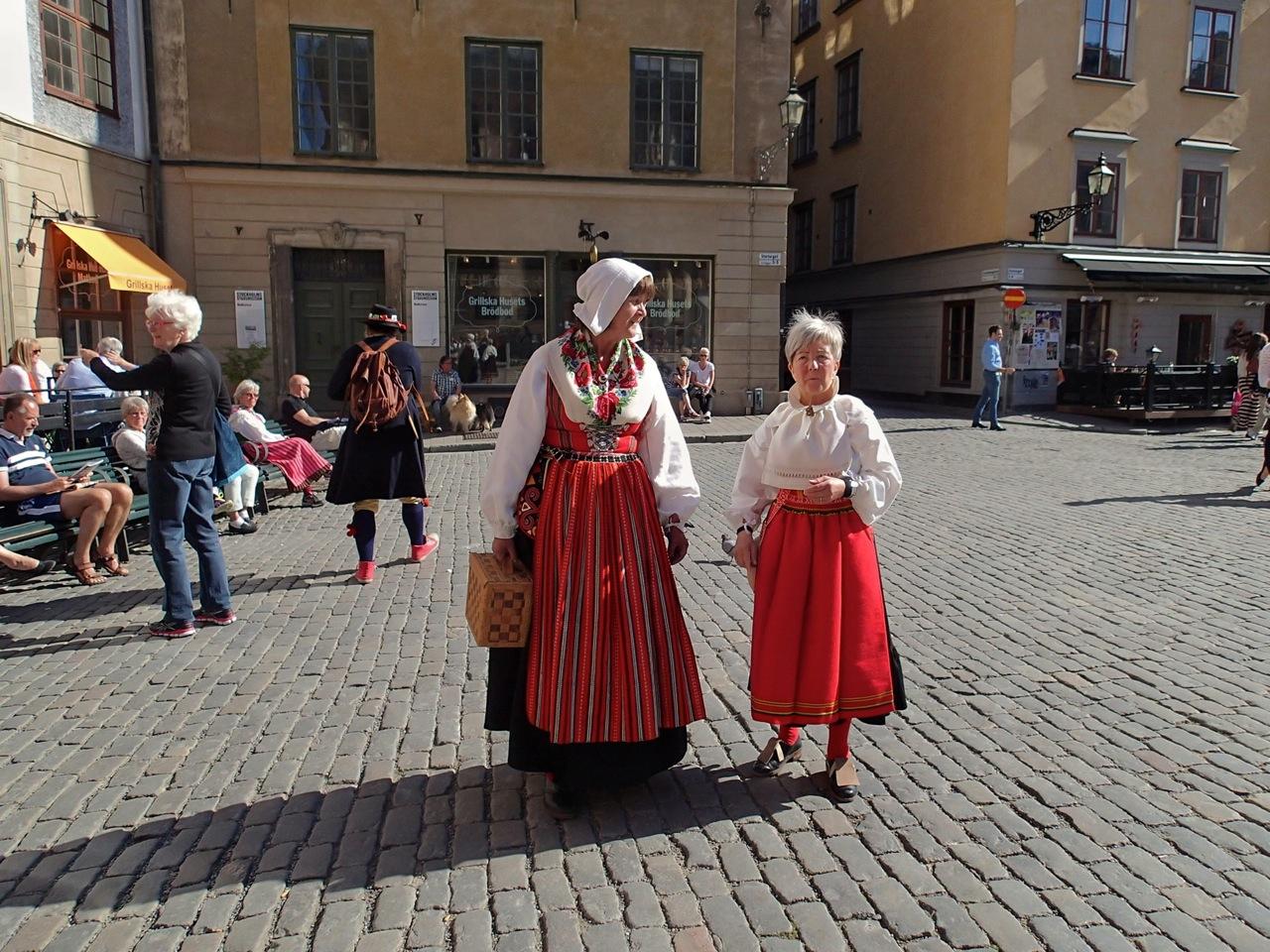 Trajes tradicionales suecos