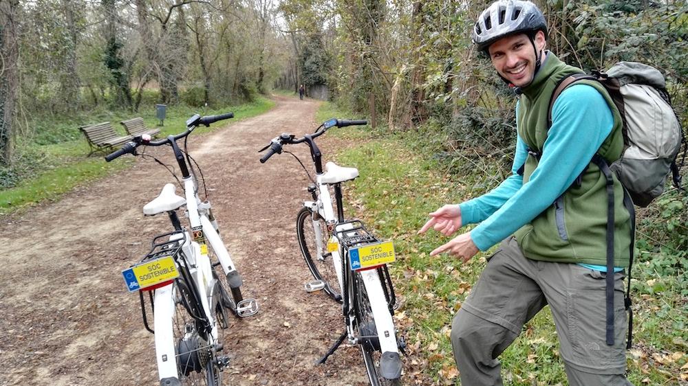 carril bici Olot ruta carrilet