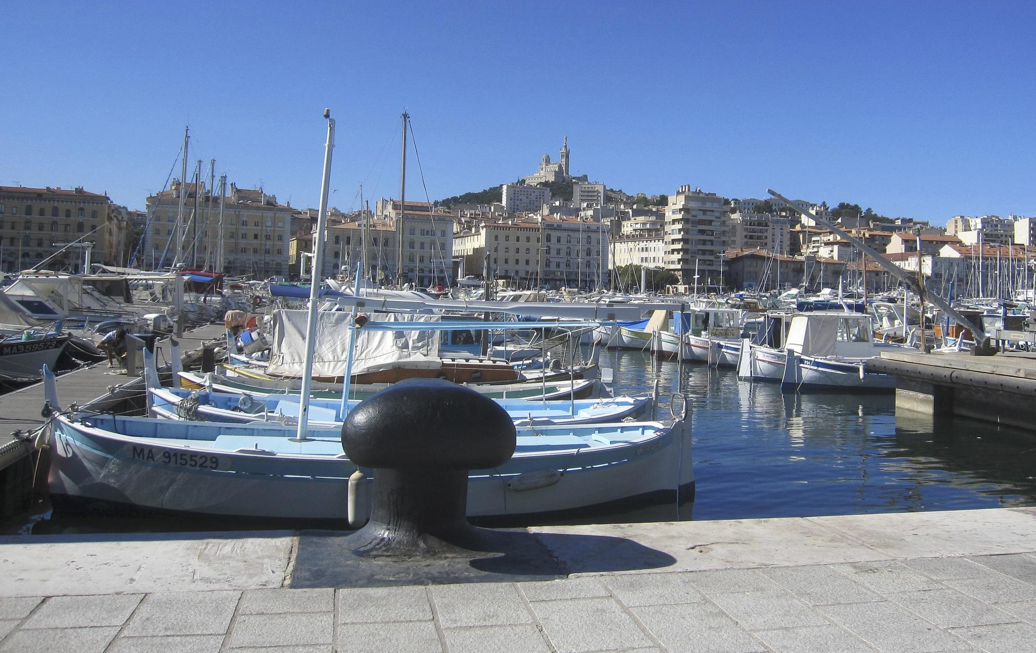 Vieux Port de Marseille. Foto de Jope Elleul, via Flickr CC