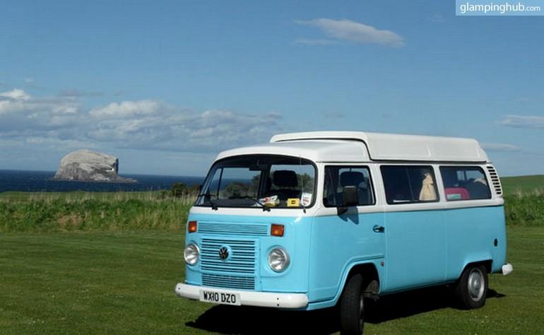 Autocaravana Vintage en Escocia