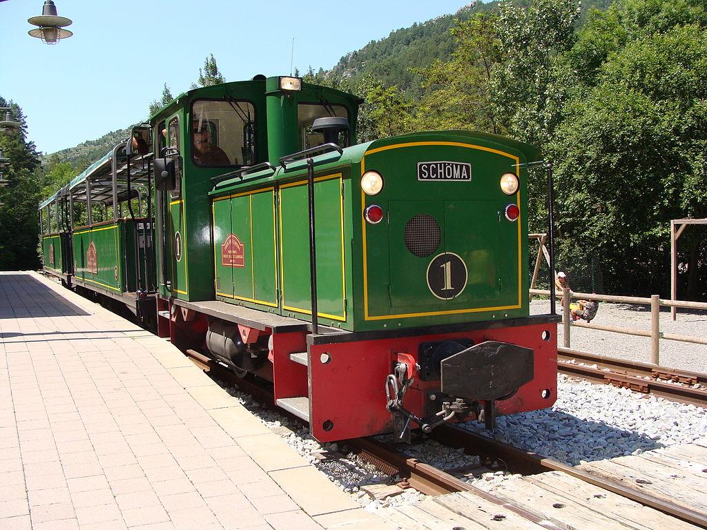 Tren Ciment. Foto: Luis Zamora